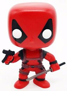 Funko Pop Toys Bobblehead Deadpool from Marvel The Avengers