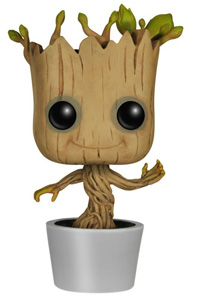 Best Funko Pop Toys Dancing Groot from Guardians of The Galaxy