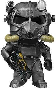 Funko Pop Toy - Power Armor of Fallout Games with mask and gun