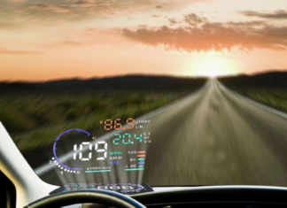"5.5"" Colored Car Head Up Display"
