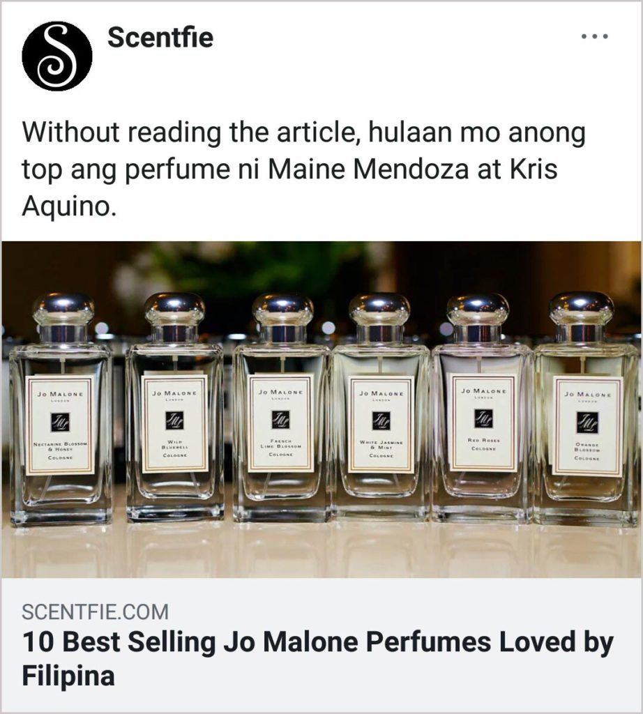 10 Best Selling Jo Malone
