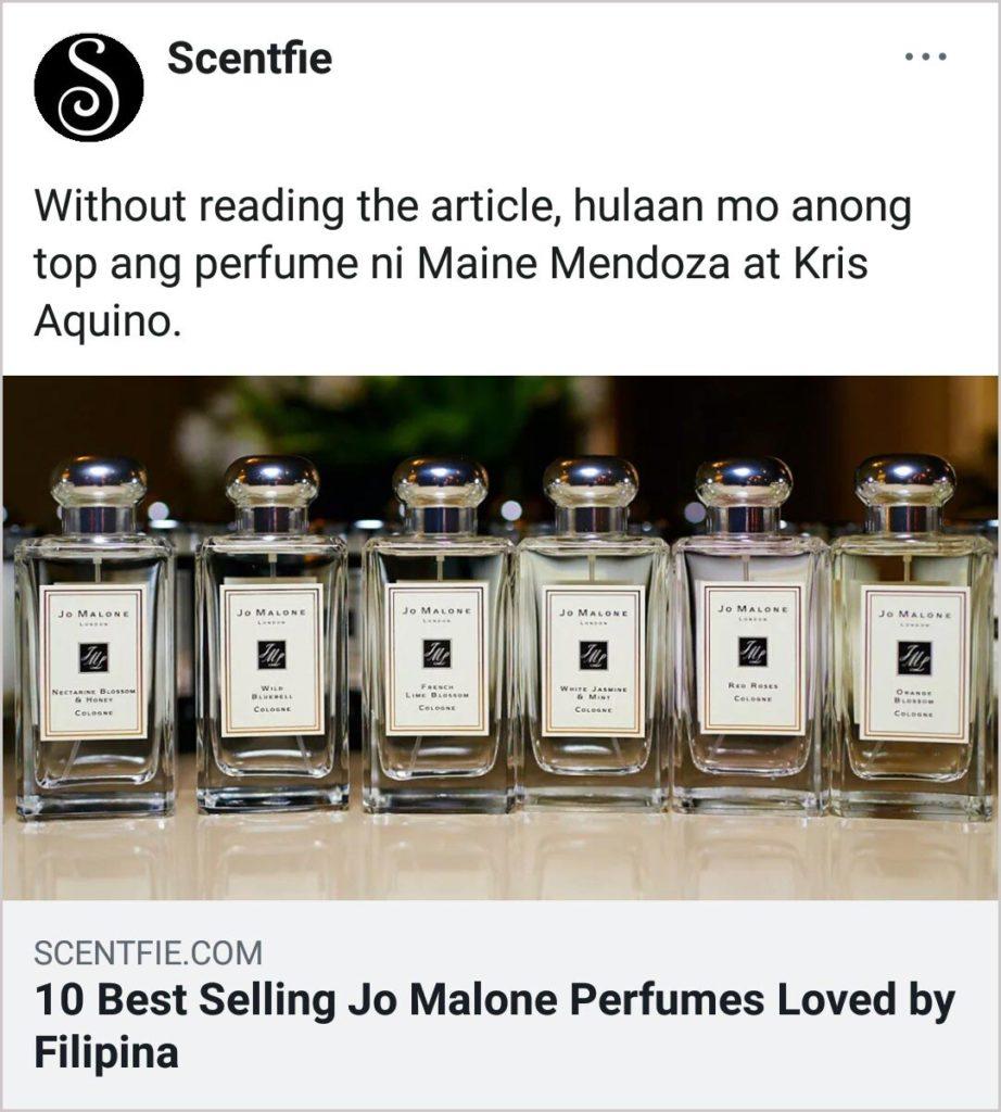 10 Best Selling Jo Malone